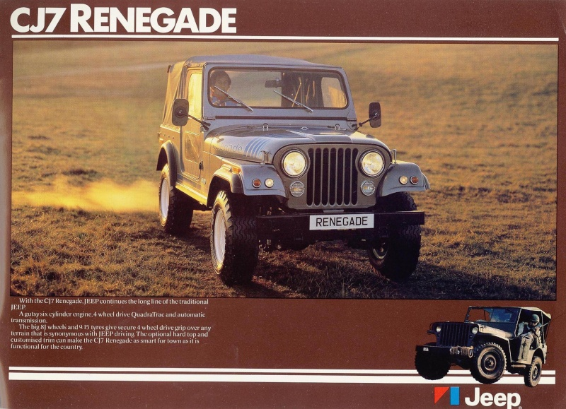 Jeep CJ7: différences entre versions - Page 2 Renega10