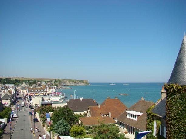 mon voyage en normandie, Courseuilles, Arromanche, OMAHA, Port en Bessin, Douvres la Delivrande Arroma10