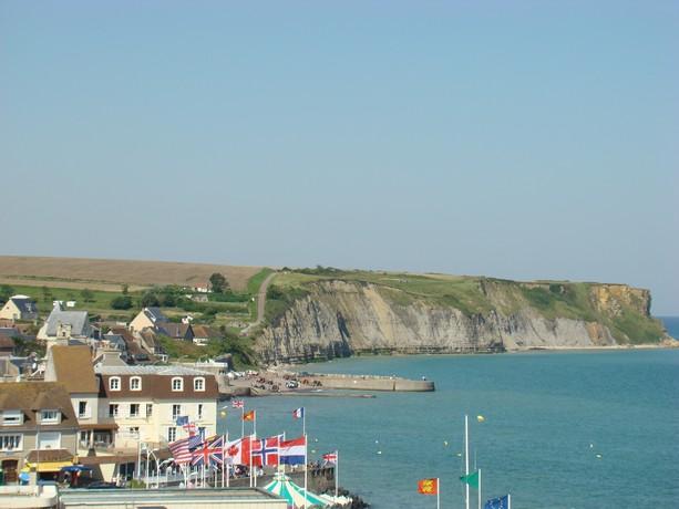 mon voyage en normandie, Courseuilles, Arromanche, OMAHA, Port en Bessin, Douvres la Delivrande Arroma11