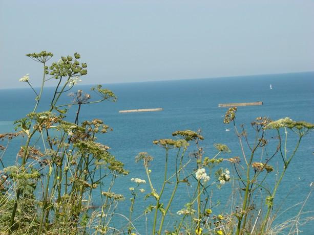 mon voyage en normandie, Courseuilles, Arromanche, OMAHA, Port en Bessin, Douvres la Delivrande Arroma14