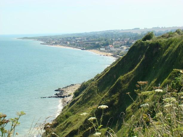 mon voyage en normandie, Courseuilles, Arromanche, OMAHA, Port en Bessin, Douvres la Delivrande Arroma16