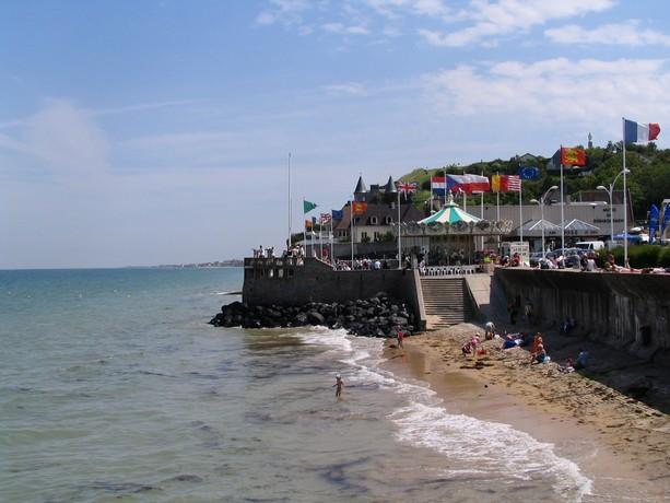 mon voyage en normandie, Courseuilles, Arromanche, OMAHA, Port en Bessin, Douvres la Delivrande Arroma23