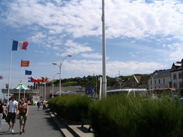mon voyage en normandie, Courseuilles, Arromanche, OMAHA, Port en Bessin, Douvres la Delivrande Arroma24