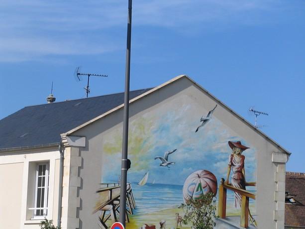 mon voyage en normandie, Courseuilles, Arromanche, OMAHA, Port en Bessin, Douvres la Delivrande Corseu30