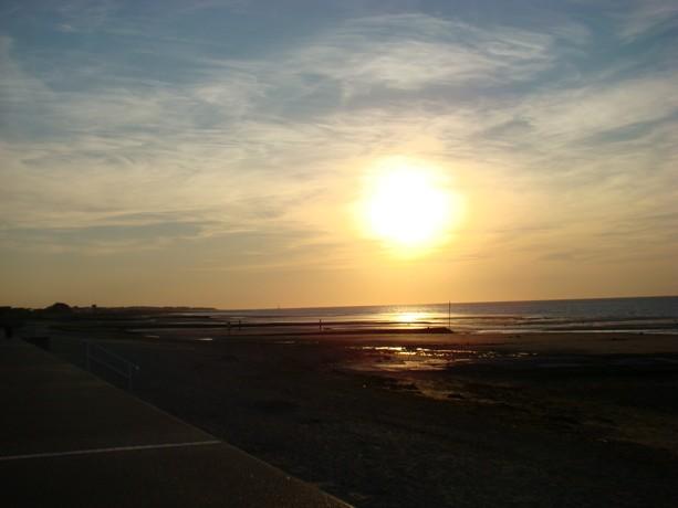 Lever ou coucher de soleil Corseu46