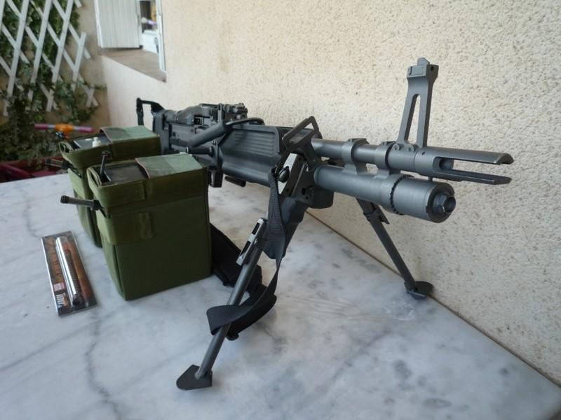 MK43, Glock 19, P226, piéces M4, gearbox V2, etc.... 1mk43-10