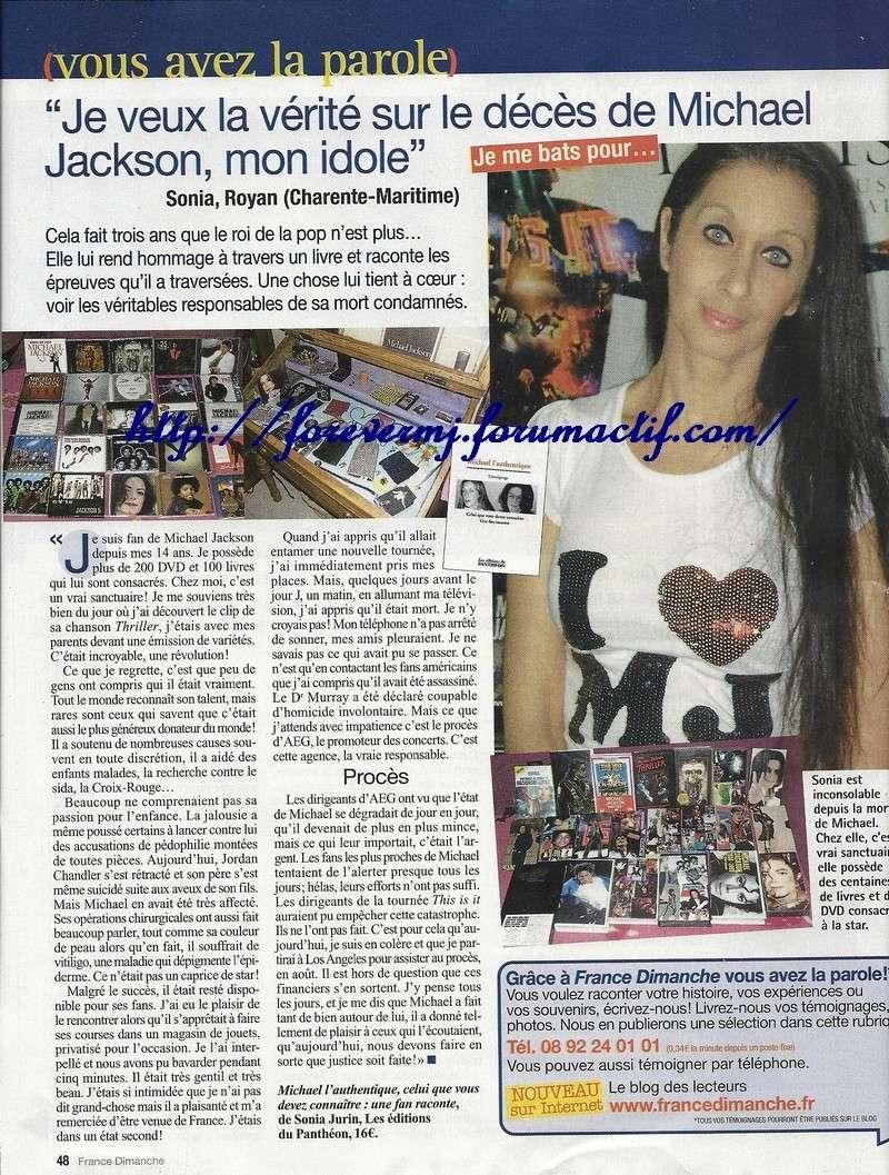 """""""Je veux la vérité sur la mort de Michael Jackson, mon idole"""" 02012"""