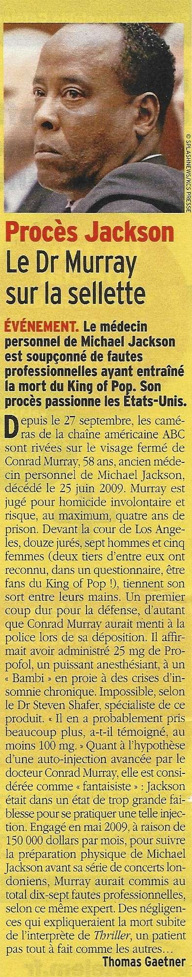 Le Dr Murray sur la sellette 10110