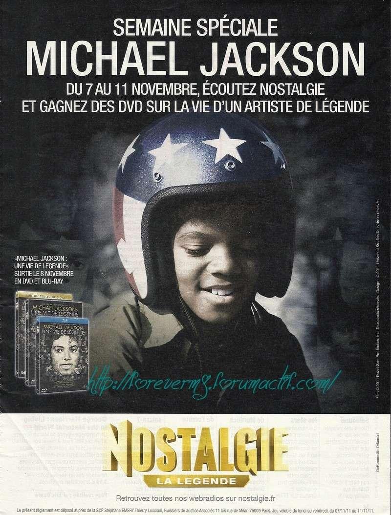 Pub DVD Michael Jackson : une vie de légende 10310