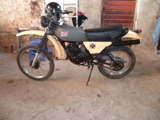 DTMX 125 cc MEMBRES : Personnalisées 0151110