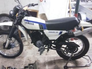 DTMX 125 cc Membres / Mod. 1979 74042510