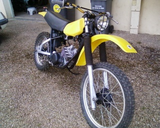 DTMX 125cc Membres / Modèles endurisés A00111