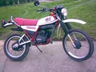 DTMX 125cc Membres / Mod. 1986 Dt211