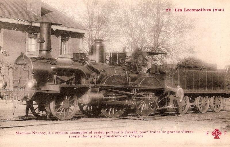 Les Locomotives à Vapeur de la Compagnie du Midi 160711