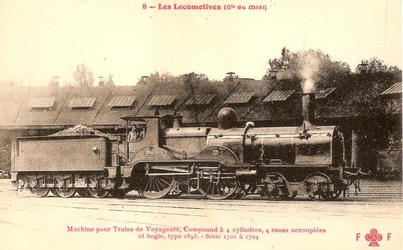 Les Locomotives à Vapeur de la Compagnie du Midi 170410