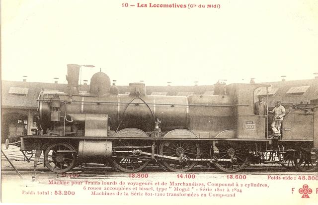 Les Locomotives à Vapeur de la Compagnie du Midi 1817_111
