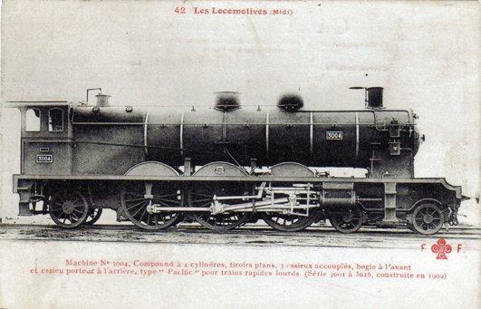 Les Locomotives à Vapeur de la Compagnie du Midi 300410