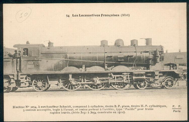 Les Locomotives à Vapeur de la Compagnie du Midi 305411