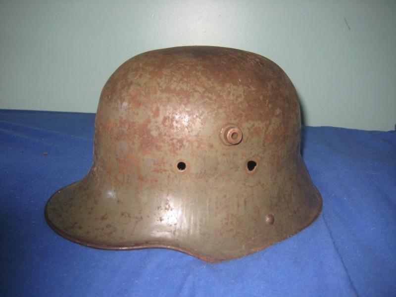 objets portant les stigmates du combat. Mai_2013
