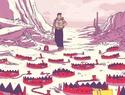Tale of sand de Ramón K. Pérez sur un scénario original de Jim Henson & Jerry juhl Tale-o10
