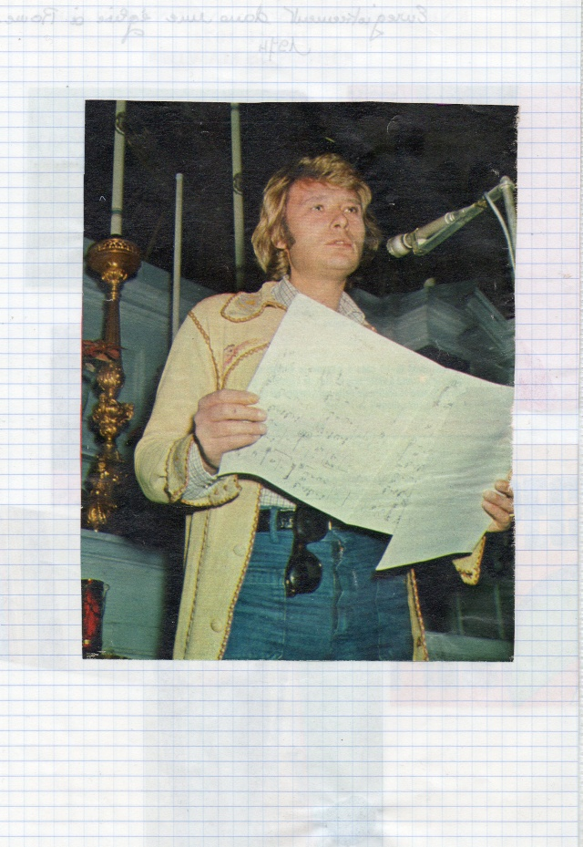 johnny hallyday en studio  Img64615