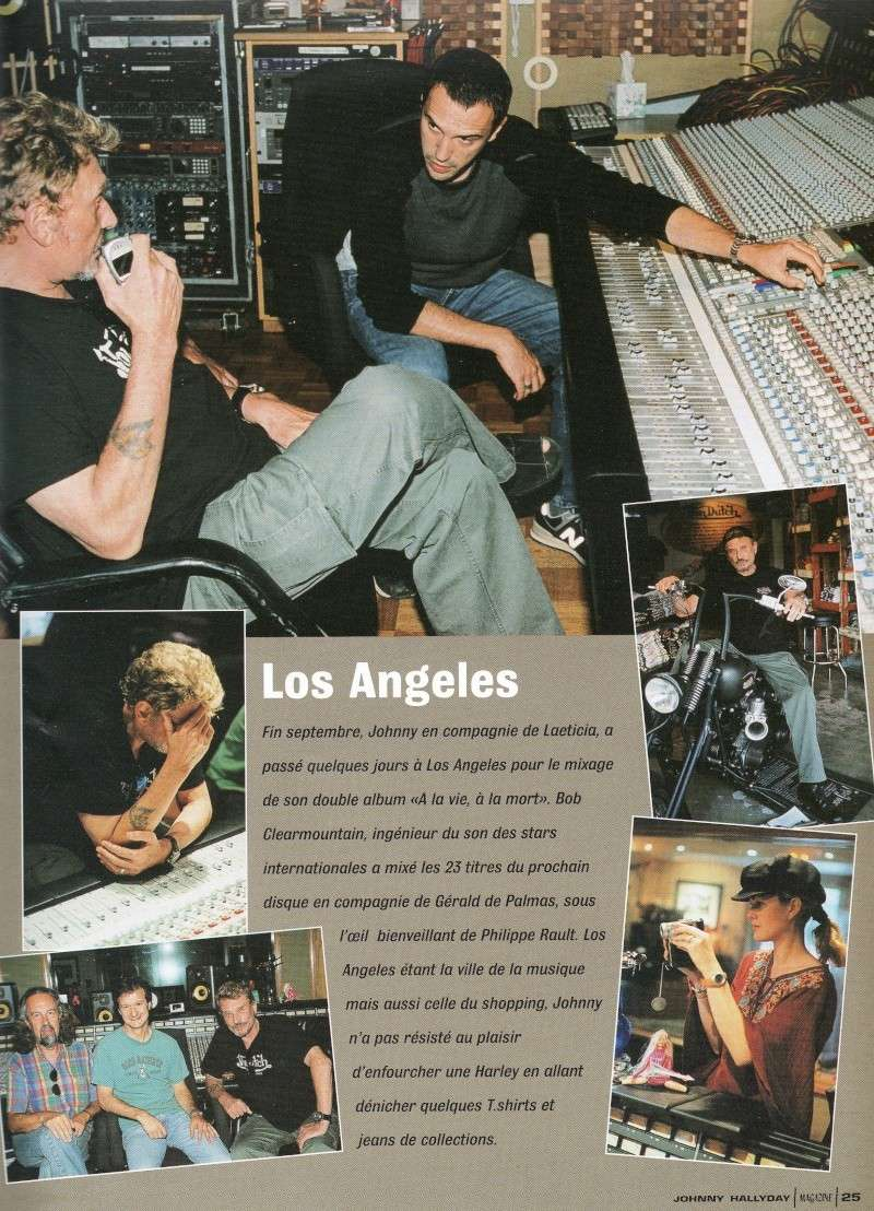 johnny hallyday en studio  Img65115