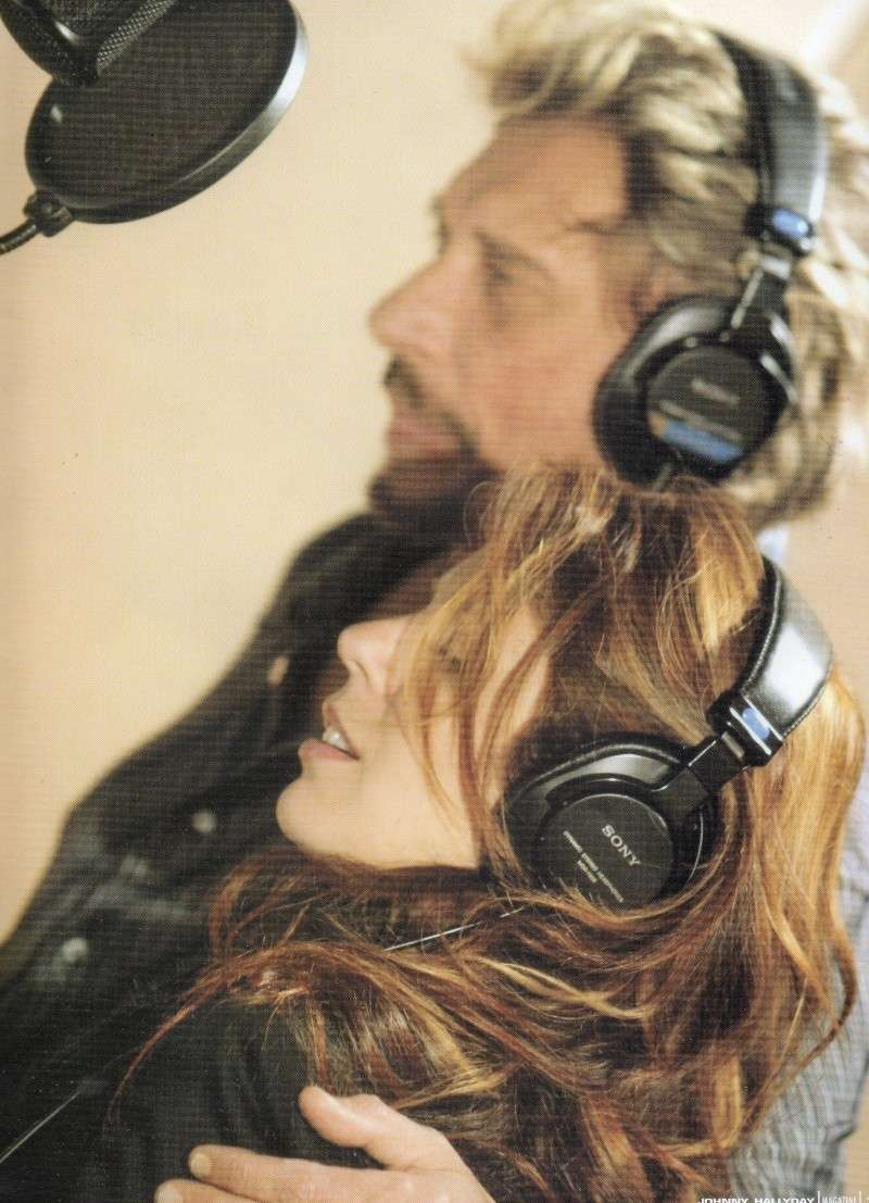 johnny hallyday en studio  Img65315