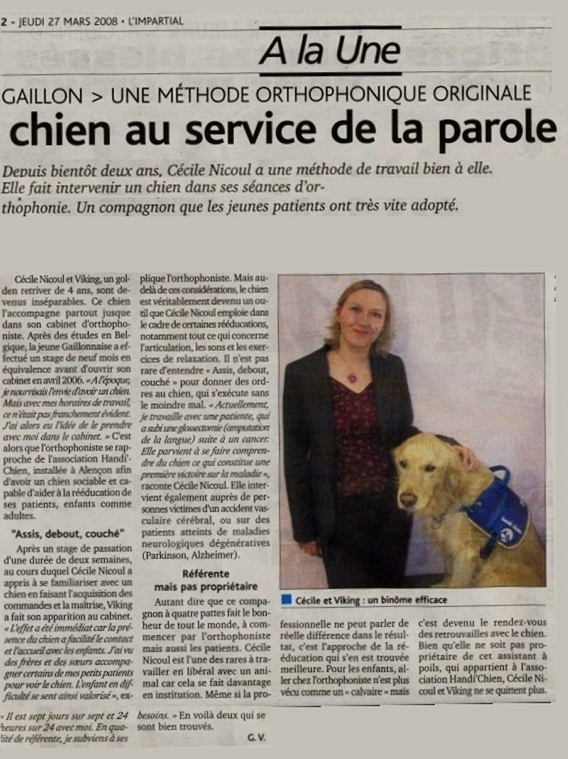 Orthophonie avec collaboration canine Orthoc10