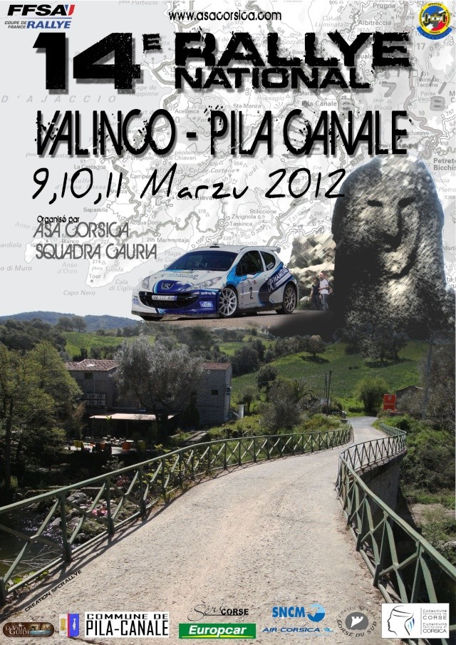 2012 : 14 ème Rallye Valinco - Pila Canale Valinc10