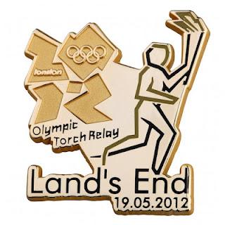 Pin's Londres 2012 - Relayeurs de la Flamme Olympique 191710