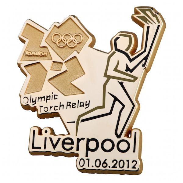 Pin's Londres 2012 - Relayeurs de la Flamme Olympique 193111
