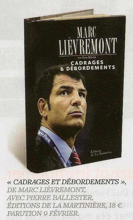 """Livre rugby - """"Cadrages et Débordements"""" par Marc Lièvremont Marc_l10"""