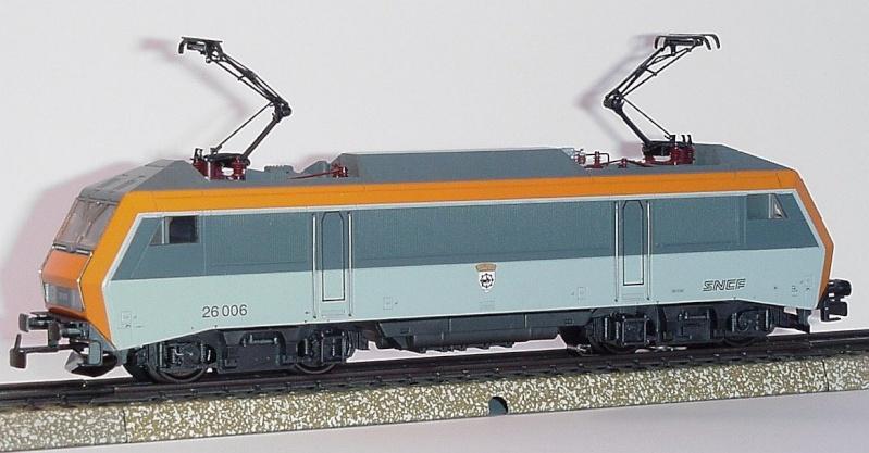 "BB 26022 SNCF ""PIKO""  3 rails AC 0831b-10"