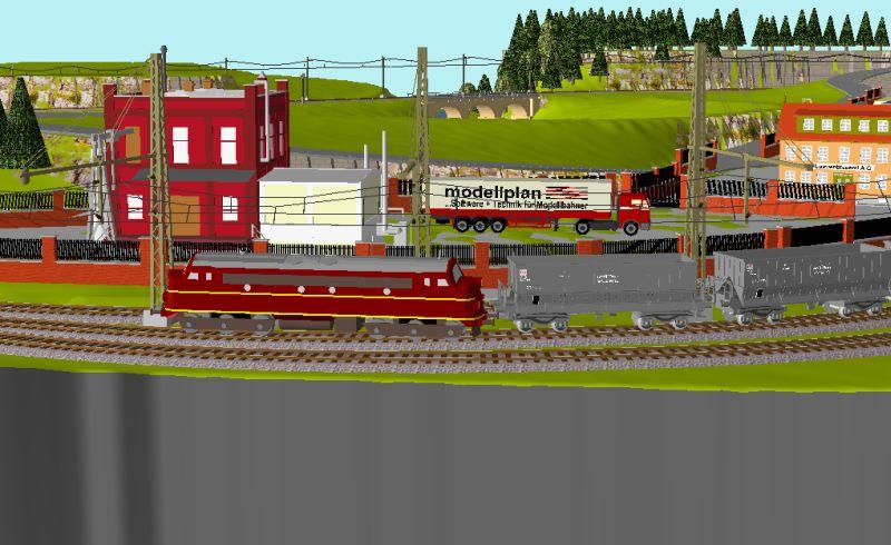 Début de mon réseau : Blaumühle en H0 Blaumu13