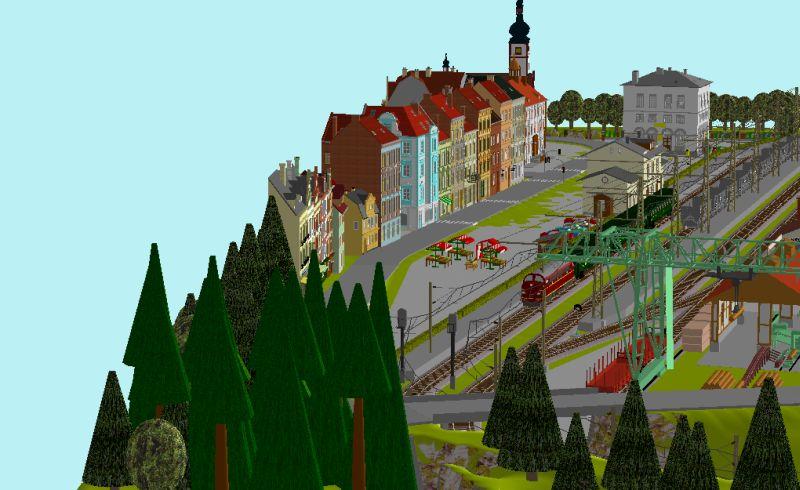 Début de mon réseau : Blaumühle en H0 Blaumu17