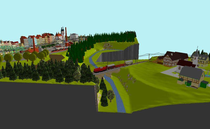 Début de mon réseau : Blaumühle en H0 Blaumu23