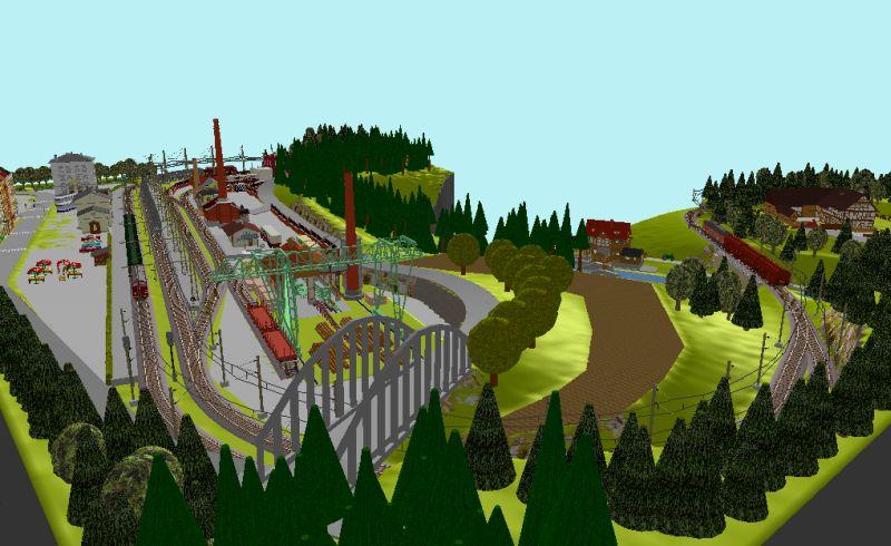 Début de mon réseau : Blaumühle en H0 Blaumu30
