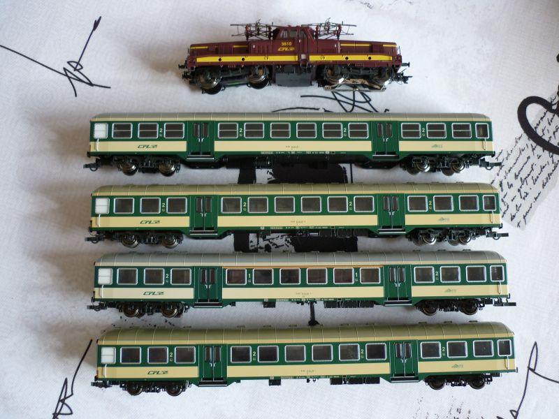 Les compositions voyageurs sur la Ligne du Nord 1980 -2011 en H0 P1020627