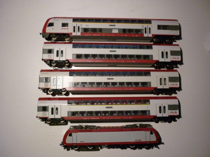 Les compositions voyageurs sur la Ligne du Nord 1980 -2011 en H0 P1020713
