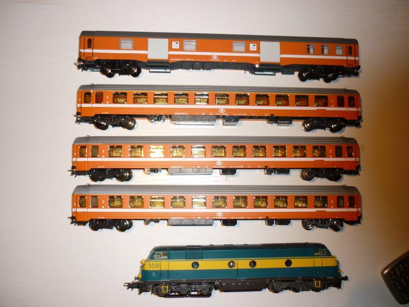 Les compositions voyageurs sur la Ligne du Nord 1980 -2011 en H0 P1020913