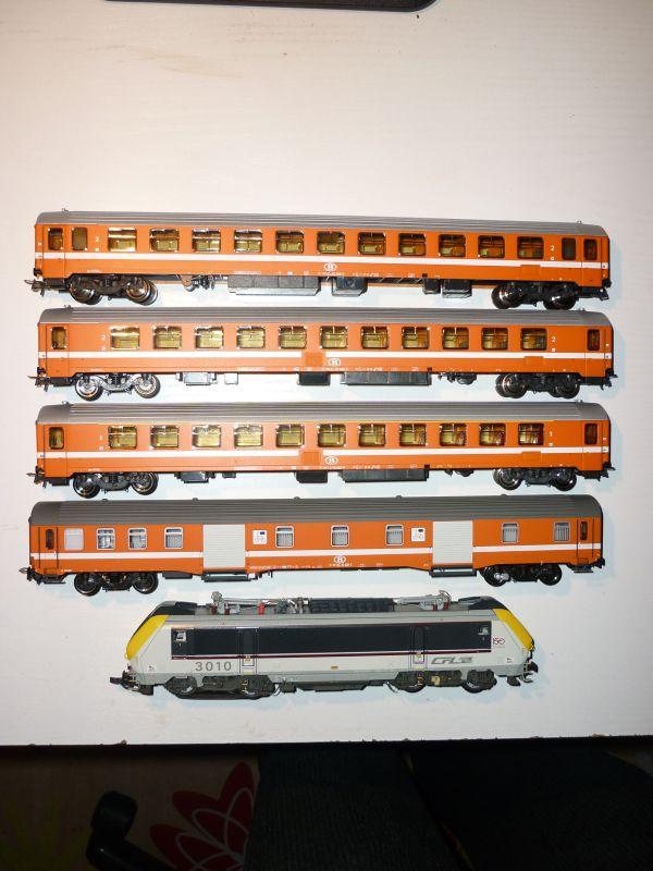 Les compositions voyageurs sur la Ligne du Nord 1980 -2011 en H0 P1020916