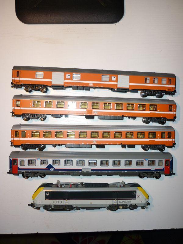 Les compositions voyageurs sur la Ligne du Nord 1980 -2011 en H0 P1020917