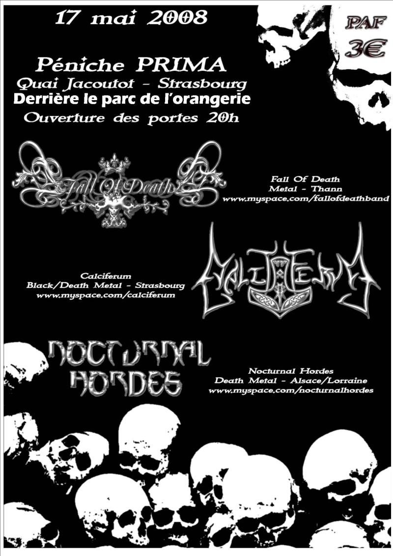 prochaine soirée métal + 3 concerts + after dance floor Affich22