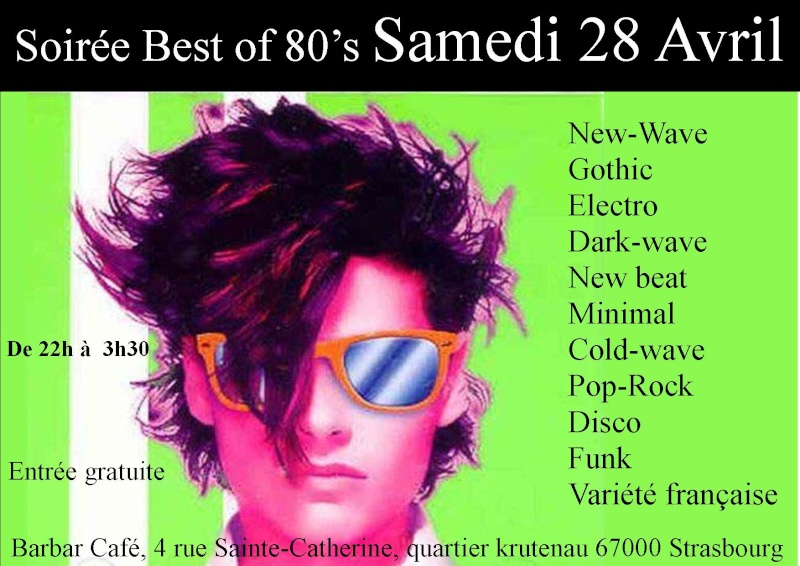 soirée best 80's (new wave, gothic, electro, post punk ...) Soirae17