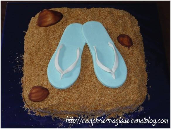 Tongs / sandales Gateau10