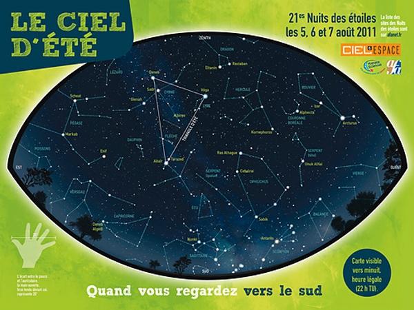EVENEMENTS AUTOUR DE L'ASTRONOMIE Carten10