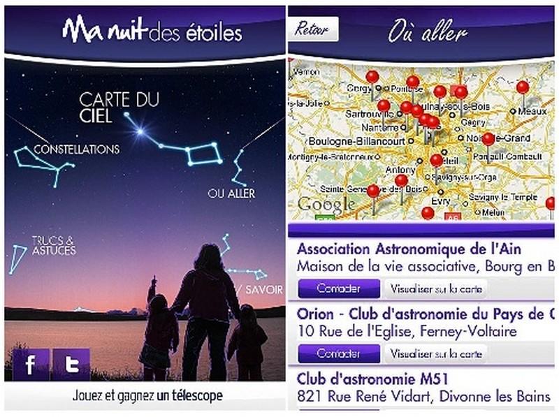 EVENEMENTS AUTOUR DE L'ASTRONOMIE Image110