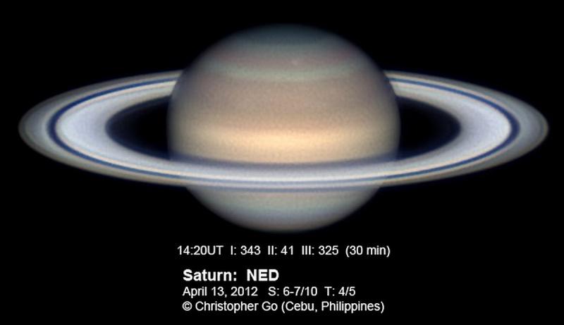 EVENEMENTS AUTOUR DE L'ASTRONOMIE - Page 2 Saturn12