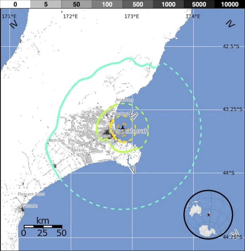 Les Alertes aux Colères de la terre... - Page 2 Seisme14