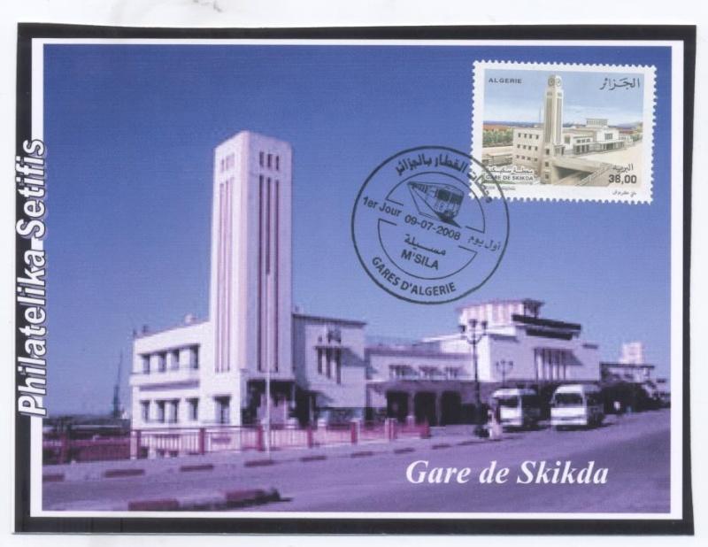 """Emission """"Gares d'Algérie"""" du 09 Juillet - Page 2 Gare_d14"""